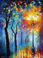 Fog Of Love by Leonid Afremov by Leonidafremov