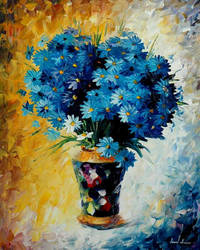 Blue Dream by Leonid Afremov by Leonidafremov