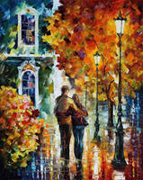 After The Date by Leonid Afremov by Leonidafremov