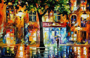Secrets Of Windows by Leonid Afremov by Leonidafremov