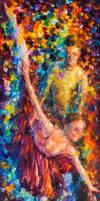 Waves of The Dance by Leonid Afremov by Leonidafremov