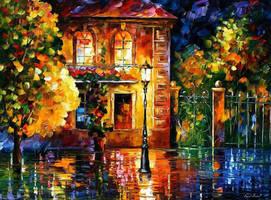 Night Of Expectations by Leonid Afremov by Leonidafremov