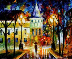Night Magic by Leonid Afremov by Leonidafremov