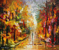 After The Rain by Leonid Afremov by Leonidafremov