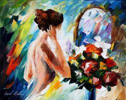 Morning by Leonid Afremov by Leonidafremov