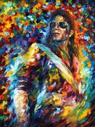 Michael Jackson by Leonid Afremov by Leonidafremov