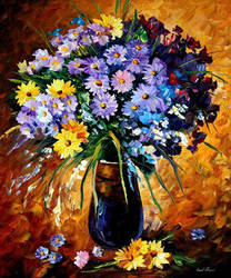 Fondness by Leonid Afremov by Leonidafremov