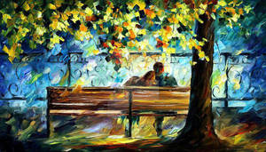 Lovers 2 by Leonid Afremov by Leonidafremov