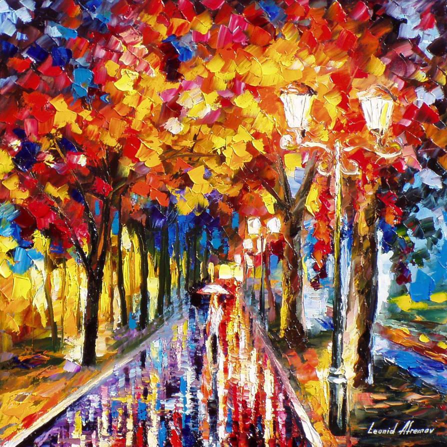 Colorful Alley by Leonidafremov