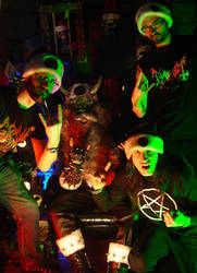 Satan Claws live at AntiChristmass XIII by Robb-MacKobb