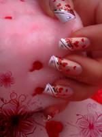 valentine's day nail art 4 by Tartofraises