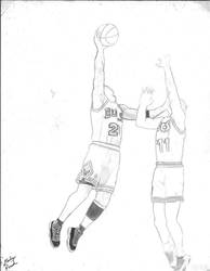 Michael Jordan sketch by slizzie