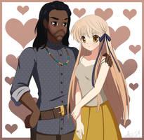 Charles Smith and Akane Smith/Senri by Lodestar1
