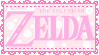 Pink LoZ stamp by CheeseCakePeach