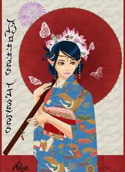 Elfic Geisha by Nalys