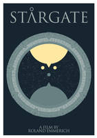 Stargate Minimal Poster by lordFelwynn
