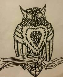 If Allister was an Owl by darkdragonfiend