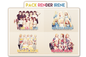 [280415] BIG PACK RENDER IRENE [ YUIN ] by HunhanStyle