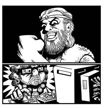 Associate Barbarian CONCLUSION by maurofloresjr