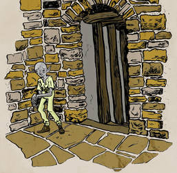 Terry Pratchett's Mr Nutt by meatwhichdreams