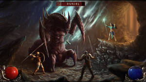 Diablo II: Fight versus Duriel by ThornSpine