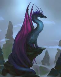 Dragon Rocks by ThornSpine