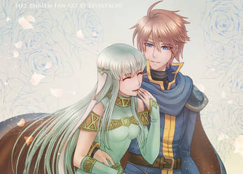 'I like it when you laugh, Ninian' by Eeveetachi