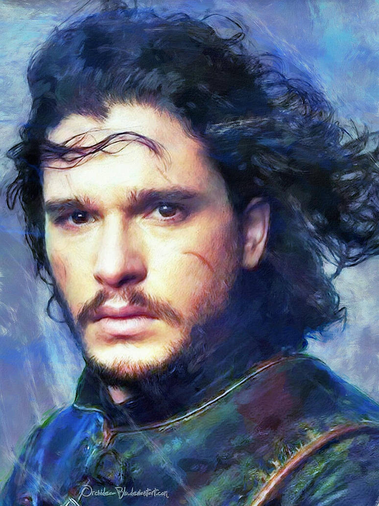 Jon Snow by Orchidea-Blu