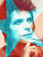 -David Bowie- by Orchidea-Blu