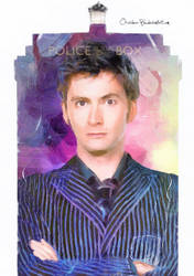 10th Doctor by Orchidea-Blu