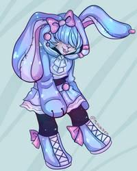 Bunny Cutie! by makakitten