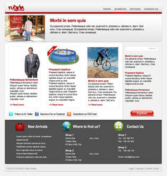 Business Web Site Design by RUGRLN