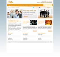 'Orange Streak' Web Site Desig by RUGRLN
