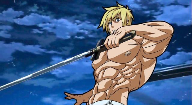 The ultimate muscular swordsman Joseph G Newton! by Makoto-nii-chan