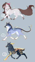 Canine Adoptables! (closed) by miyuuma