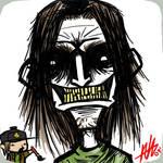 Ugly Man Profile Sketch by Kiru100