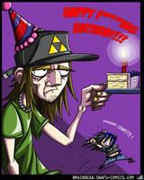 Happy Birthday Ya Prick by Kiru100