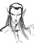 Elf Sketch by Kiru100