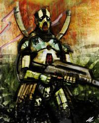 Quick Paint: Junga Trooper by Kiru100