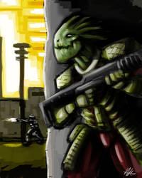 Quick Paint: Assault on Nima-Varr by Kiru100