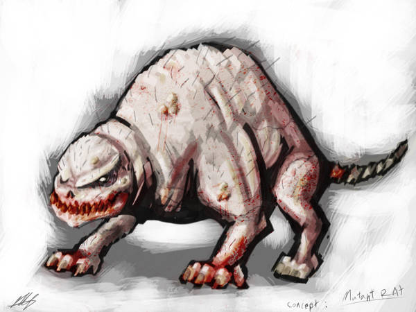 Quick Paint: Mutant Rat by Kiru100