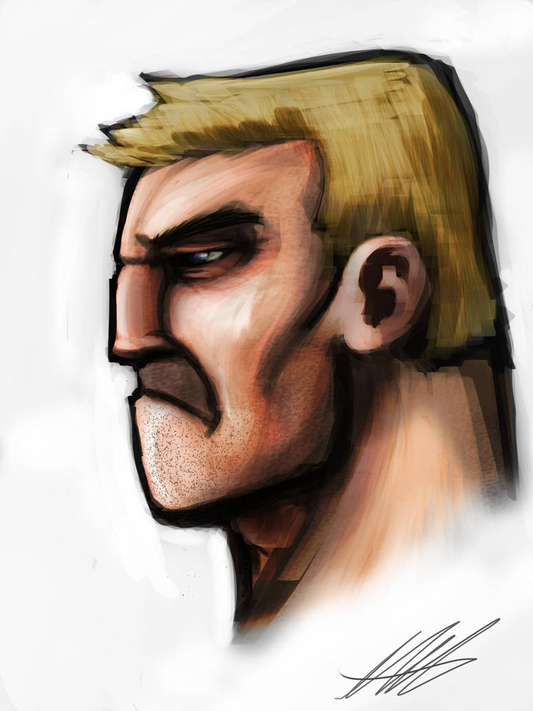 Quick Paint: Tough Guy by Kiru100