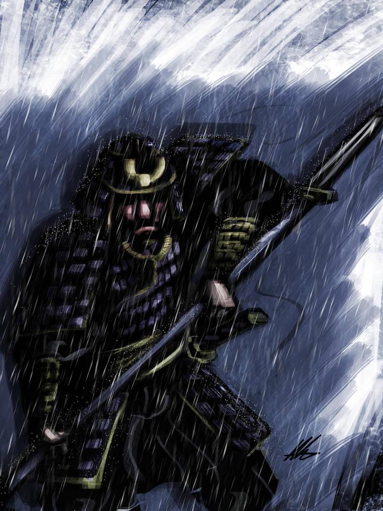 Quick Paint: Yari Samurai by Kiru100
