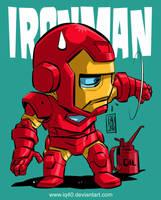 Chibi Ironman by iq40