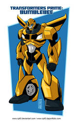 TF Prime Bumblebee by iq40