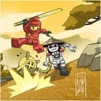 Lego Ninjago by iq40