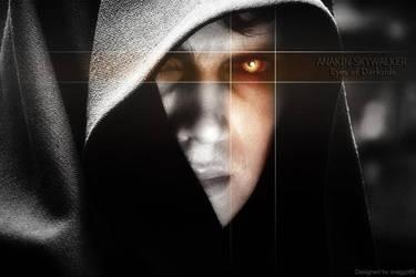 Anakin  'Eyes of Darkside' by maggot09