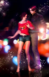 let's Dance baby!(Leon and Claire) by YegiHCH26