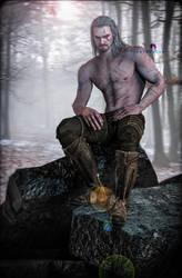 Geralt (Witcher 3) by YegiHCH26