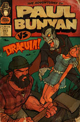 the Adventures of Paul Bunyan by blitzcadet